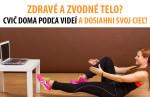 5 tipov, ako cvivičit kdekoľvek a kedykoľvek #fitness